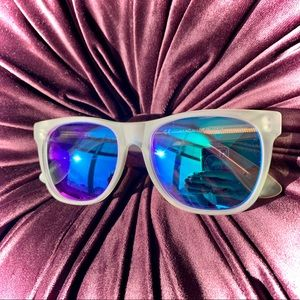 RETROSUPERFUTURE Crystal Flash Matte Sunglasses